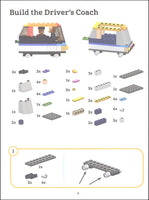 Build It! Trains - Make Super cool Models with Your Favorite LEGO Parts