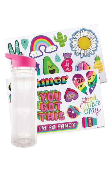 Fashion Angels Sticker Collage Hydro-Craft Water Bottle Kit