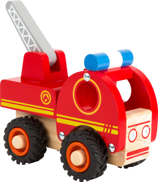 Smallfoot Legler Wooden Red Firetruck