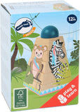 Legler Wooden Cube Puzzle Jungle Tower