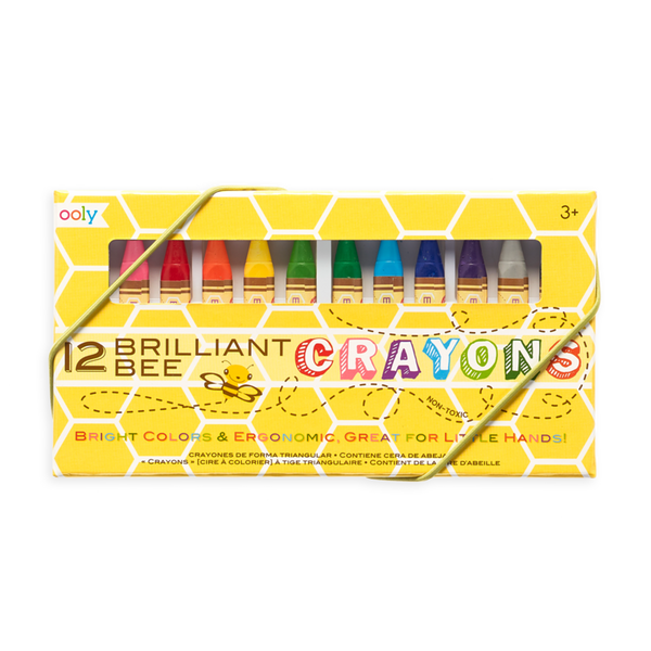 Ooly 12Pc Brilliant Bee Crayons