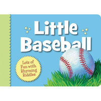 Little Baseball Board Book