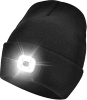 Night Scout Knit Beanie w/ Rechargeable LED Light