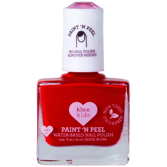 Klee Kids Water-Based Peelable Nail Polish (Assorted Colors)