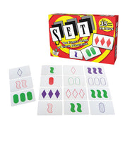 Set: The Family Card Game of Visual Perception