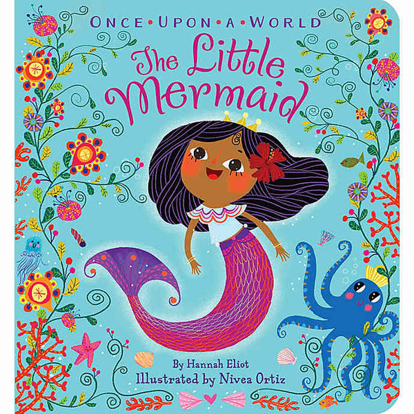Once Upon a World: The Little Mermaid Board Book