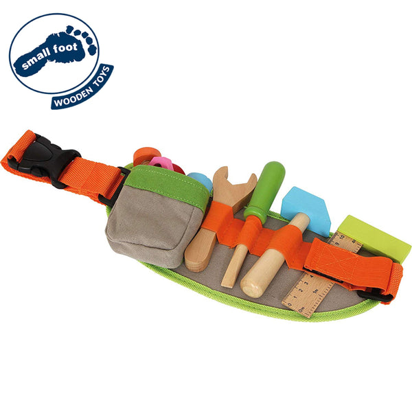 Legler 13Pc Tool Belt w/ Wooden Tools