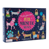 Pets Dress Up Magnetic Scene