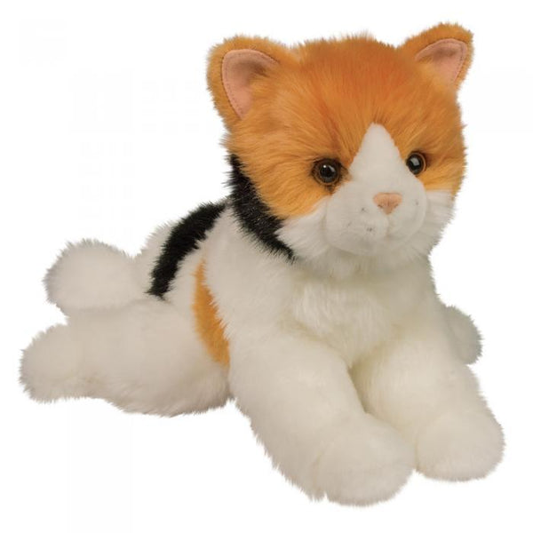 "Douglas Calico Cat ""Connie"" Plush Stuffed Animal"
