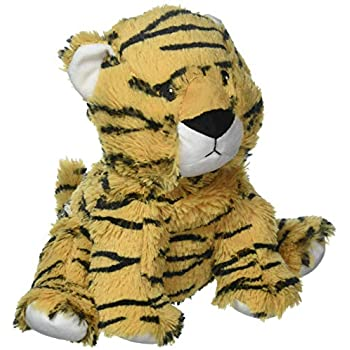 "Tiger - Warmies 13"" Microwaveable Plush Animal Lavender Scented"