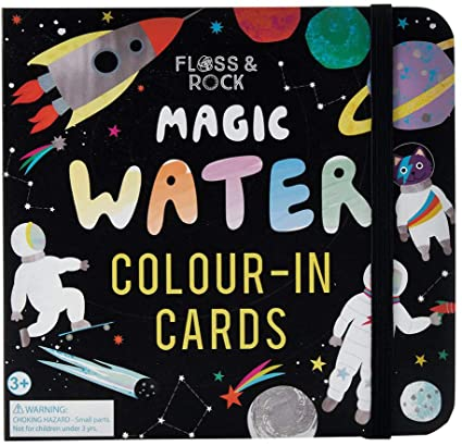 Magic Water Color In Cards - Space Magic