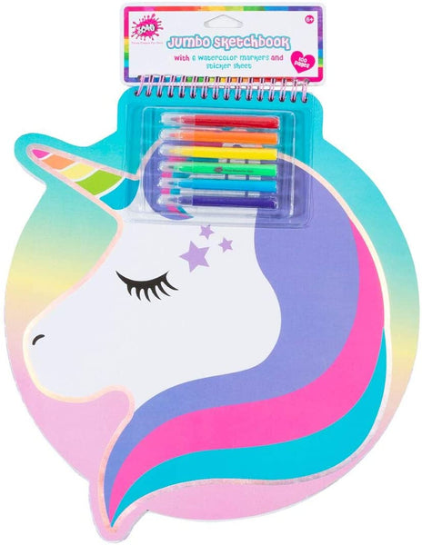 3C4G Jumbo Unicorn Sketch Book