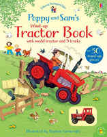 Usborne Wind up Tractor Back Busy Book