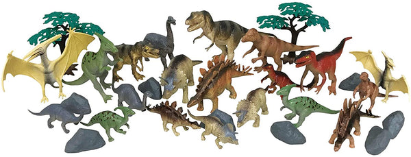 National Geographic 30Pc Dinosaur Playset