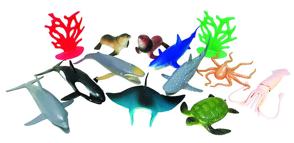 National Geographic 13Pc Ocean Playset