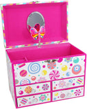 Candy Land 4 Drawer Musical Jewelry Box