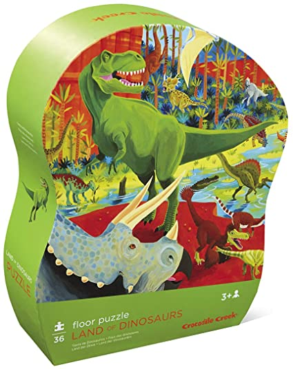 Crocodile Creek Land of Dinosaurs Floor Puzzle