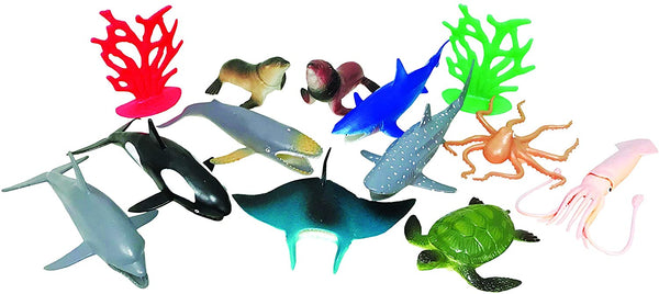 National Geographic 13Pc Ocean Animals Playset