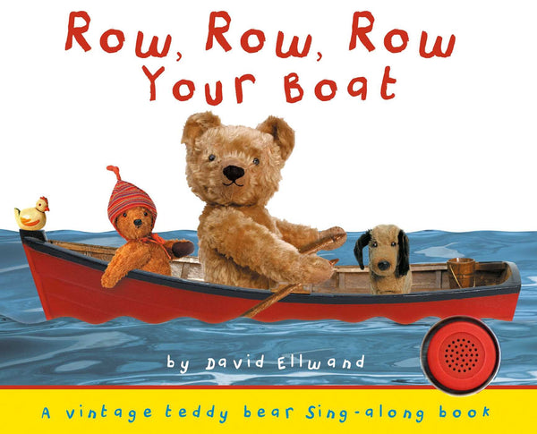 Row, Row, Row Your Boat Sing Along Board Book