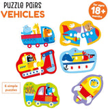 Banana Panda Puzzle Pairs - Vehicles