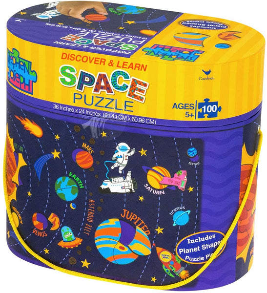 Stephen Joseph Discover & Learn Space Floor Puzzle
