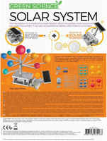 Green Science Solar System: Motorised Solar Hybrid Power STEM Kit