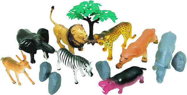 National Geographic 13Pc Wild Animals Playset