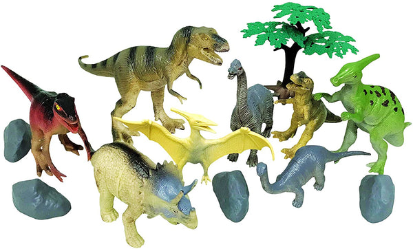 National Geographic 13Pc Dinosaur Playset