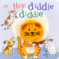 Hey Diddle Diddle Finger Puppet Book