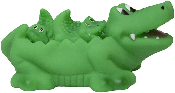 Tubby Scrubby Alligator Family Bath Toys