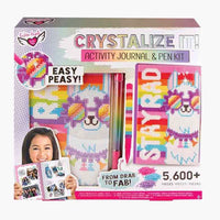 Fashion Angels Crystalize It! - Activity Journal & Pen Set