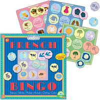 Eeboo French Vocabulary Bingo Game