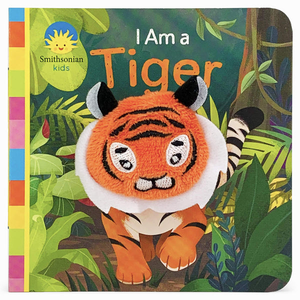 I Am A Tiger Finger Puppet Book