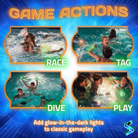 Pool Party - A Glow in the Dark Swimming Game