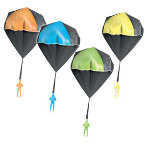 Glow in the Dark Parachute Tangle Free Paratrooper