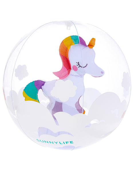 Sunnylife 3D Unicorn Beach Ball