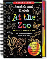 At the Zoo Scratch and Sketch