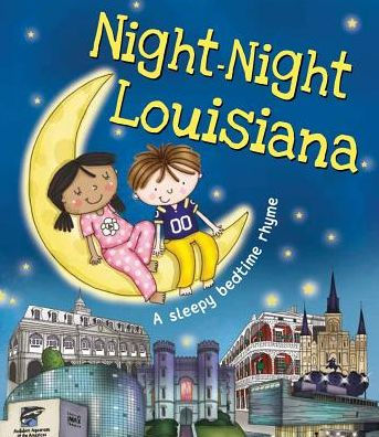 Night-Night Louisiana Board Book