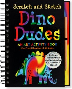 Dino Dudes Scratch and Sketch