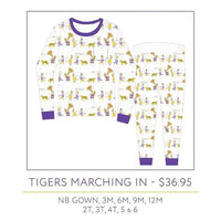 NolaTAWK LSU Tigers Marching In Pajamas