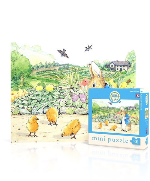 Peter Rabbit Mini Puzzle - Spring Chicks