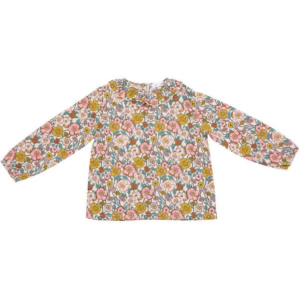 Angel Dear Flower Child Pink Multi Blouse