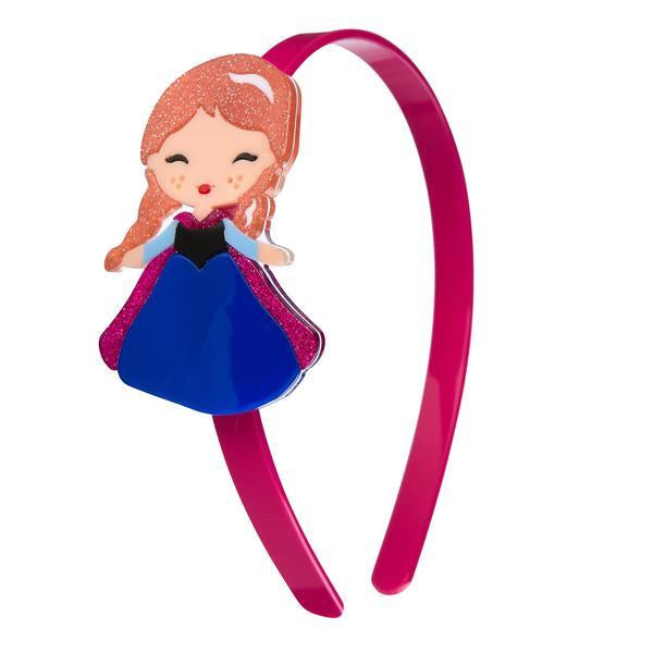 Acrylic Headband - Princess Anna