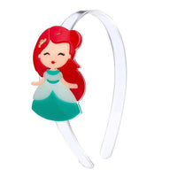 Acrylic Headband - Princess Ariel