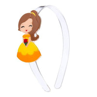 Acrylic Headband - Princess Belle