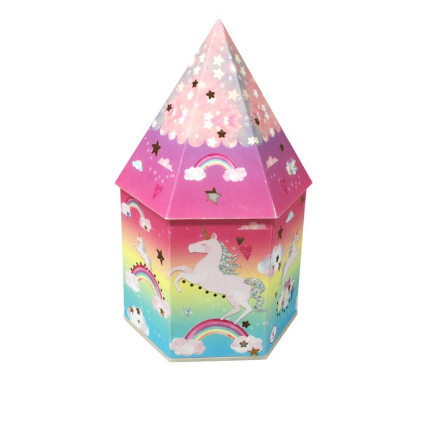 Cotton Candy Unicorn Color Changing Lantern