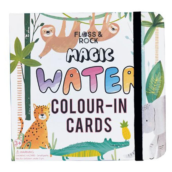 Magic Water Color-In Cards - Jungle