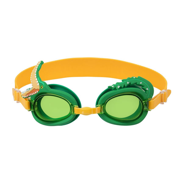Sunnylife Croc Shaped Swim Goggles