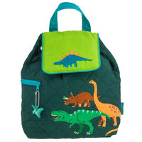 Stephen Joseph Quilted Backpack - Dinosaur