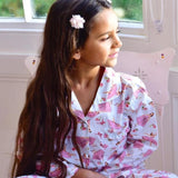 Powell Craft Ballerina Button-Down Cotton Pajamas